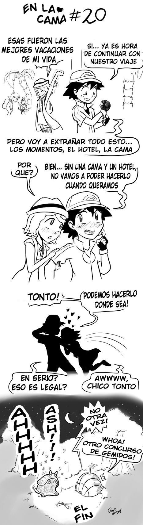 porn serena comic and ash