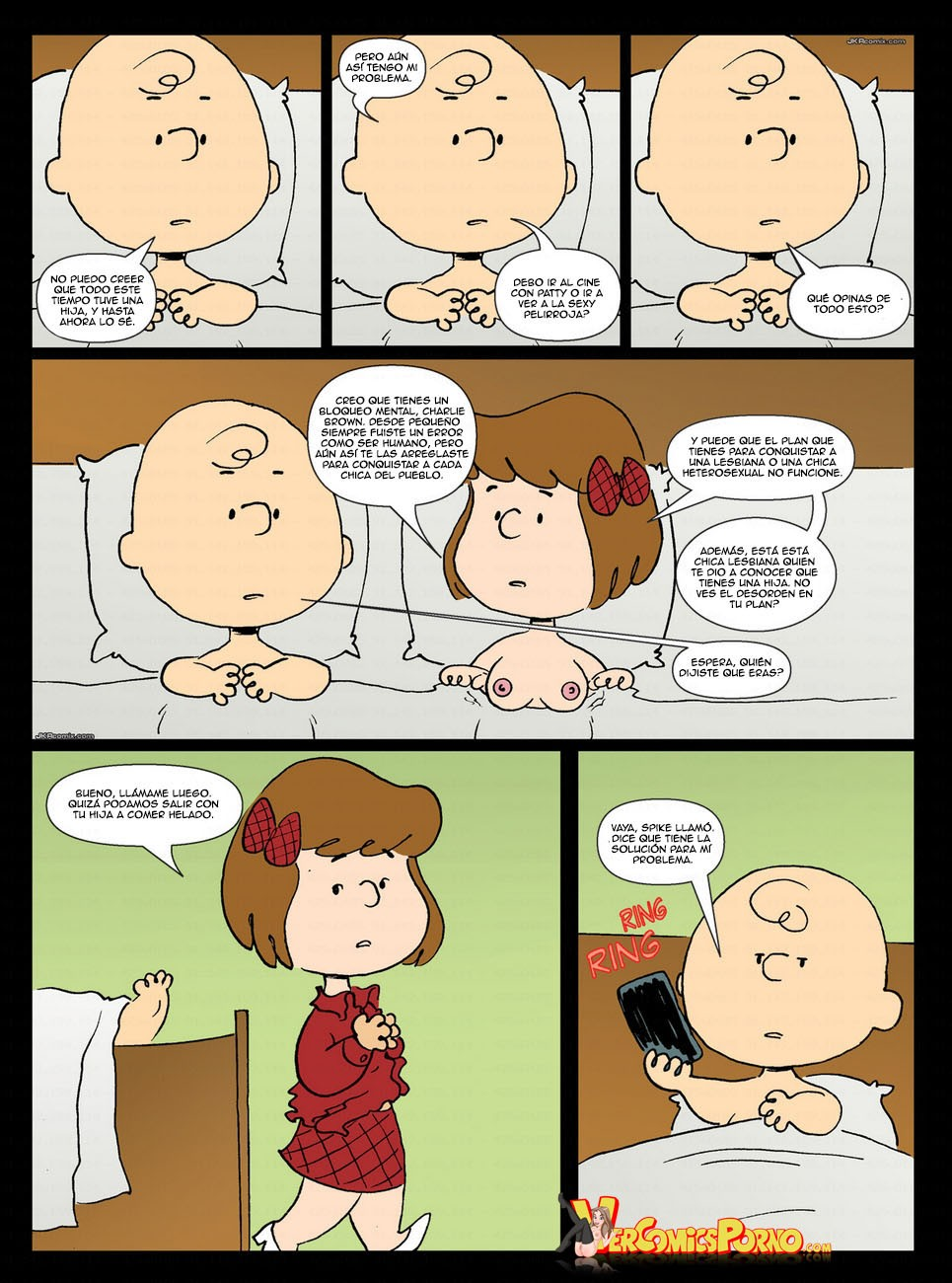 porn comics Charlie brown cartoon
