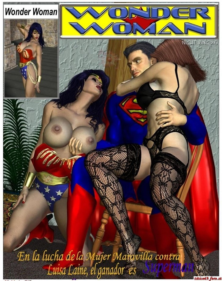 Superman hentai pornó