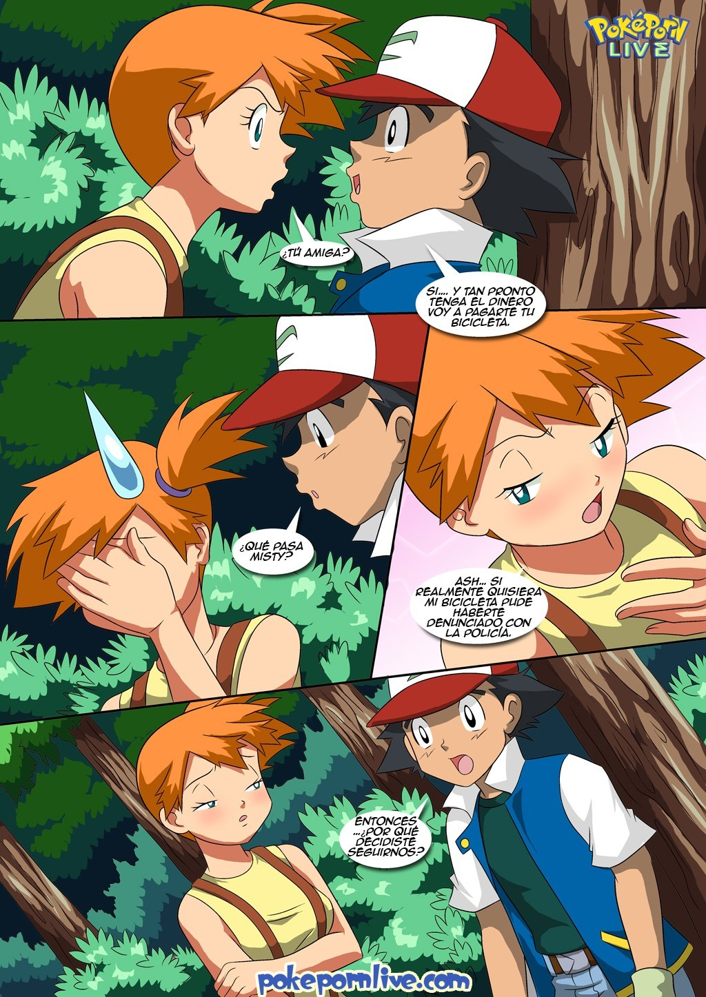 Pokemon bianca hentai comic