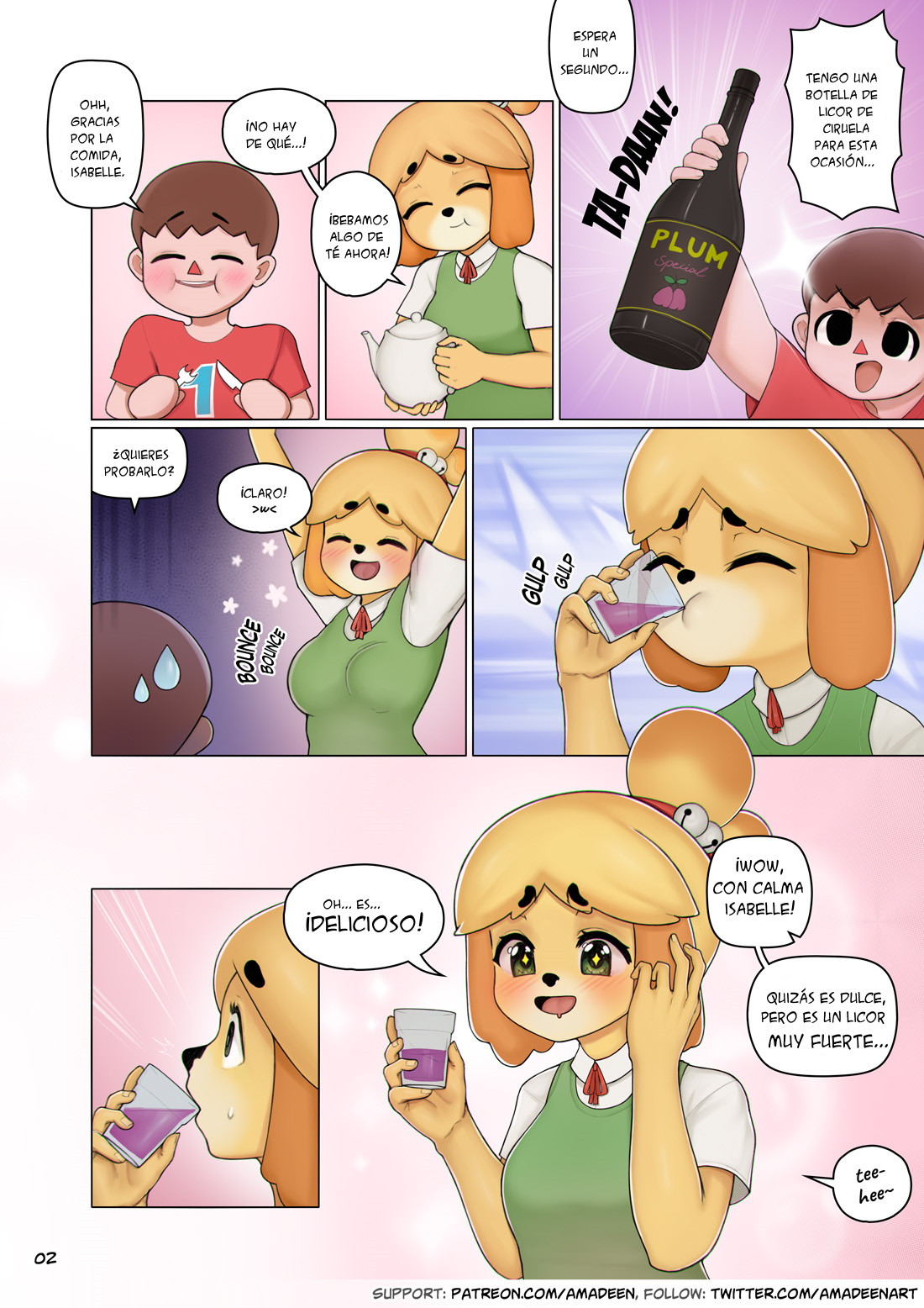 Animal Crossing Juegos Porno amadeen] isabelle's lunch incident (animal crossing)